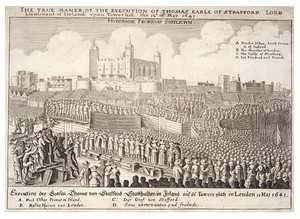 Execution of Strafford