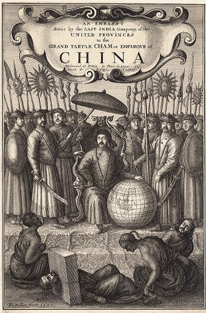Jan Nieuhoff. An embassy from the East-India Company to the Emperour of China