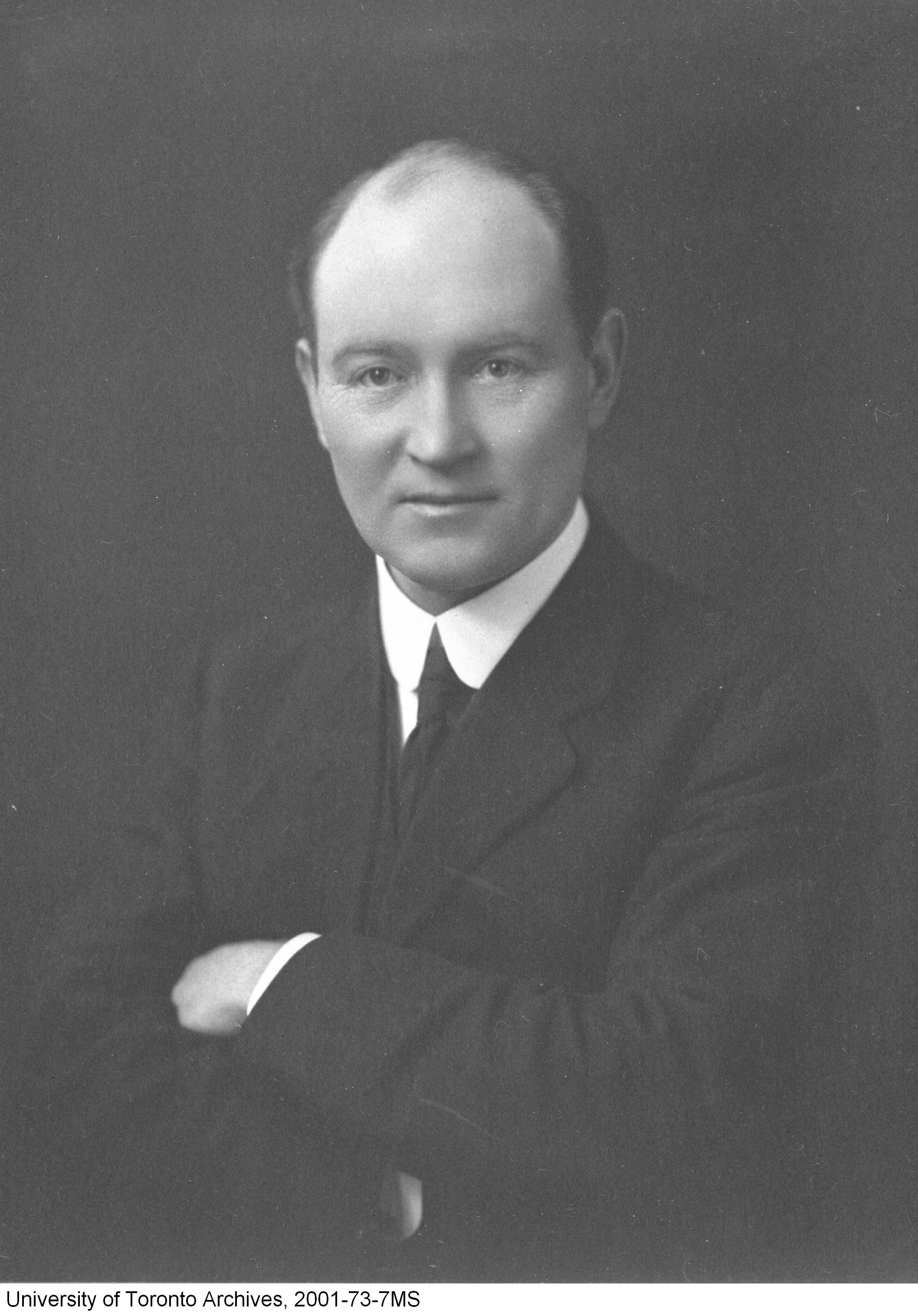 Sir Robert Falconer, circa 1913